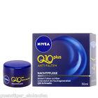 (29,80€/100ml) 5ml/50ml Nivea Q10 Plus Anti Rides Soin de nuit Crème au choix