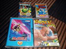 Amstrad cpc 464 - 4 games: Mr. Heli, Monty on the Run, Wizball & Karnov
