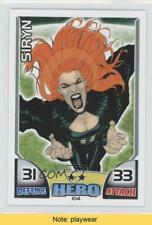 2011 Topps Hero Attax Marvel Siryn #104 READ 1i3