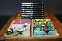 On Two Wheels Motorbike Magazine Complete Binders Volumes 1 to 8 Vintage 1970s