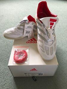 Adidas Predator Precision TR David Beckham White Limited Collection UK Size 9