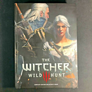 The Witcher 3 Wild Hunt Complete Edition Collector's Guide Strategy Hard Cover