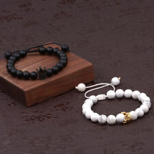 Couple King His And Her Queen Crown Bracelets Friendship Hand Weaved Bracelets