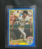 1990 Score Moises Alou Rookie Baseball Card #592 Pittsburgh Pirates
