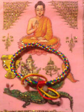 Stress & Pain Relief Amulet Lucky Love & Protection Bracelet Blessed By Monks B1
