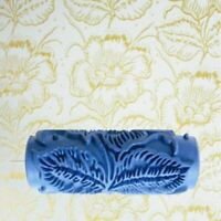 """Wall Painting Roller DIY 5"""" 3D Rubber Decorative Flower Decorating Tool Set Home"""