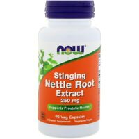 Now Foods STINGING NETTLE Root Extract 250 mg, 90 Veg Caps PROSTATE HEALTH