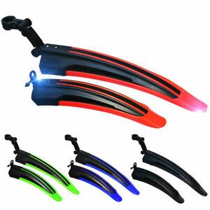 Fahrrad Schutzblech MTB Vorne Hinten Gänge Mehrfarbig Freigabe Zubehör Kotflügel