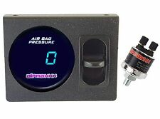 Digital Air Ride Gauge Panel & 1 Paddle Switch 200 psi Air Suspension System
