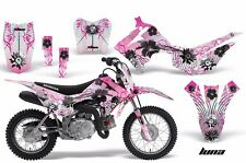 AMR Racing Honda CRF110 F Graphics Kit Bike Decal Sticker Part 13-15 LUNA PINK