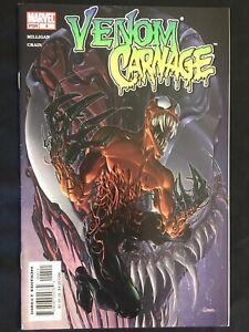 Venom vs Carnage #4 VF+ 8.5 1st TOXIN COVER 3rd Toxin Marvel 2004  SPIDER-MAN