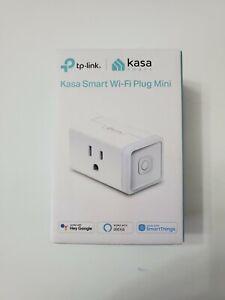 TP-Link Kasa Wi-Fi Smart Plug Mini Alexa & Google Compatible, New In Box..