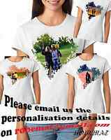 Womens Custom Design Personalised Valentines T-shirt Your Photo valentine/'s day