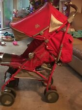 mclaren stroller Techno xt red, used but in perfect condition have a rain cover.