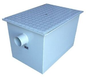 Grease Trap 7kg Capacity. 27 ltr / Min Flow Rate. Fat Separator.