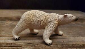 "Safari Limited Polar Bear Cub Figure 6"" Plastic Toy"