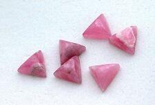 ONE 6mm Trillion Rhodocrosite Cabochon Cab Gem Stone Gemstone Natural EBS6876
