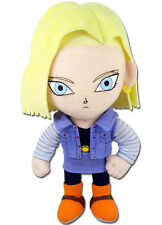 "Great Eastern GE-52719 DBZ Dragon Ball Z 8"" Android #18 Blonde Hair Plush Doll"