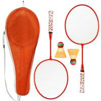 Central Badminton Set 2 Player Pro Racket Shuttlecock Garden Game