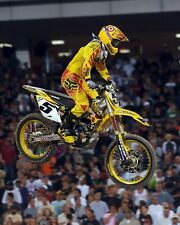 Ryan Dungey Motocross Suzuki Rider Color 11x14 Photo #1