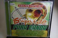 Various Artists - 15 Super Exitos Con Pura Banda , 2005 ,Music CD (NEW)