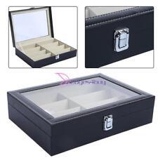 Sunglasses Case Display Rack Holder Stand Organizer Storage 8 Eyewear Tray Box