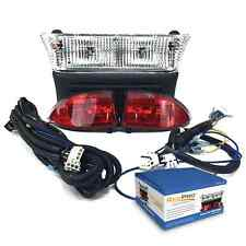 Club Car Precedent Electric Light Kit w LED Tail lights & Bucket Harness 08.5-Up