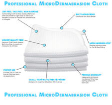 MicroDermabrasion Cloth Erase Wrinkles Scars Anti Aging Acne Treatment Exfoliate