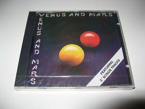 Wings - Venus and Mars - 3 Bonus Tracks - CD - Neu OVP