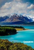 Queenstown Neuseeland New Zealand Foto Fridge Magnet Souvenir Neu