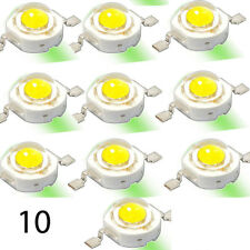 10 3W White High Power LED Chip COB Lamp Without PCB Component 240lm Ten