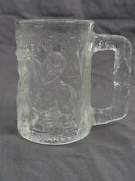 Vintage McDonalds Glass Mug Batman Forever Movie Robin DC Comics 1995 France