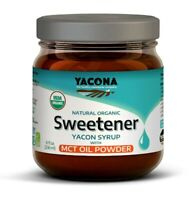 Yacona Yacon All Natural Organic Syrup w/ MCT Oil Powder - Low Calorie Sweetener