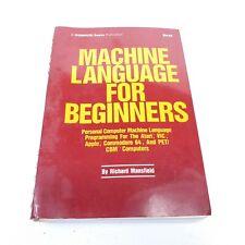 Machine Language for Beginners Richard Mansfield Compute! Books Atari Commodore