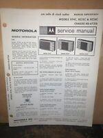 Motorola Radio Model #XT4C-Service Manual- Schematics.XC15C,XC16C Parts List.
