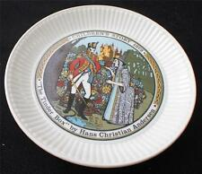 """Vintag 1972 Wedgwood England Children's Story #2 Tinder Box by Andersen 6"""" Plate"""