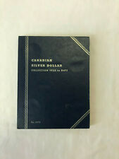 Whitman Blue Folder 9073 for Canada SILVER DOLLAR Coin Collection (1935 To date)