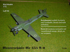 Messerschmitt Me 335 A-0       1/72 Bird Models Resinbausatz / resin kit