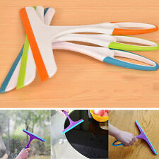 Soft Silicone Car Window Blade Home Cleaning Brush Cleaner Wiper Squeegee Drying