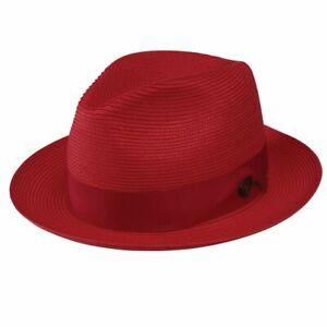 DOBBS I ROSEBUD STRAW HAT I RED