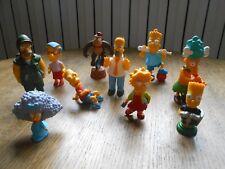 Lot de 10 figurines PVC Les simpson - The Simpsons (Q)