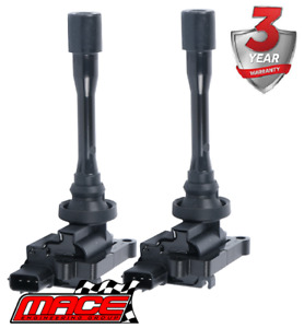 2 X STANDARD REPLACEMENT IGNITION COIL FOR MITSUBISHI LANCER CG CH 4G94 2.0L I4