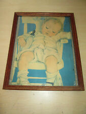 Vintage 1930'S Maud Tousey Fangel *End Of A Perfect Day* Portrait. First Frame.