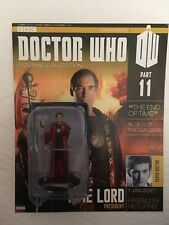 BBC SERIES DOCTOR WHO DR ISSUE 11 RASSILON EAGLEMOSS FIGURINE + MAGAZINE