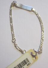 Taufkette 925 Silber von CEM mit Namensschild ohne Gravur
