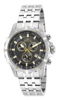 Invicta Specialty 17502 Men's Black Chronograph Date Stainless Steel Watch