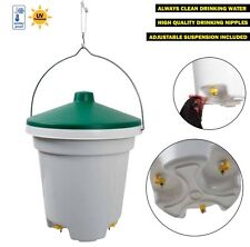 Chicken Drinker - LARGE 12L Nipple Drinker - CLEAN WATER ALL THE TIME