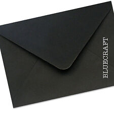 50 x A5 C5 Jet Black Envelopes 100gsm - Greeting Cards Invites