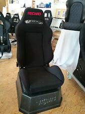 Recaro Speed Stoff Velour schwarz mit roter Naht, Rechg. Neu und Gutachten!!