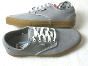 Vans Mens Chima Ferguson Pro Frost Gray Gum Suede Canvas Skate shoes Size 11 NWT